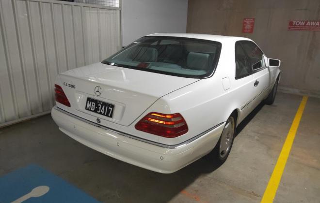 1996 Mercedes CL500 White coupe Australian delivered future classic (3).jpg