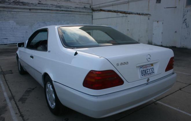 1996 Mercedes CL600 S600 coupe Polar White images (11).jpg