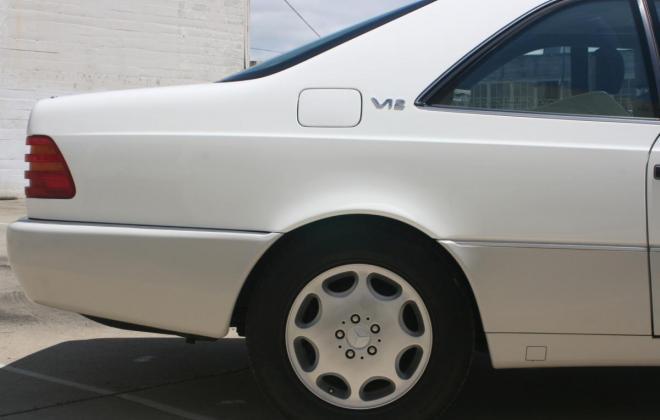 1996 Mercedes CL600 S600 coupe Polar White images (21).jpg