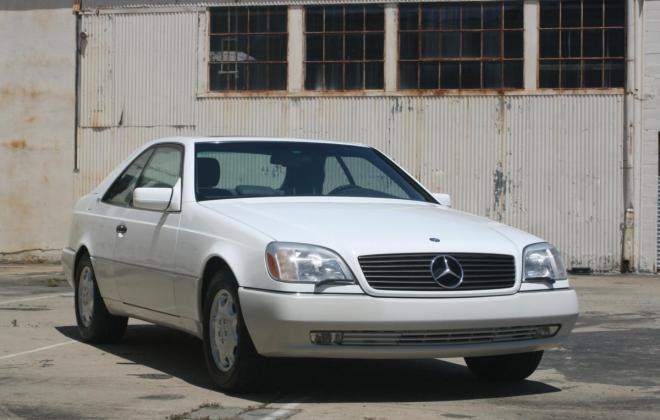 1996 Mercedes CL600 S600 coupe Polar White images (22).jpg