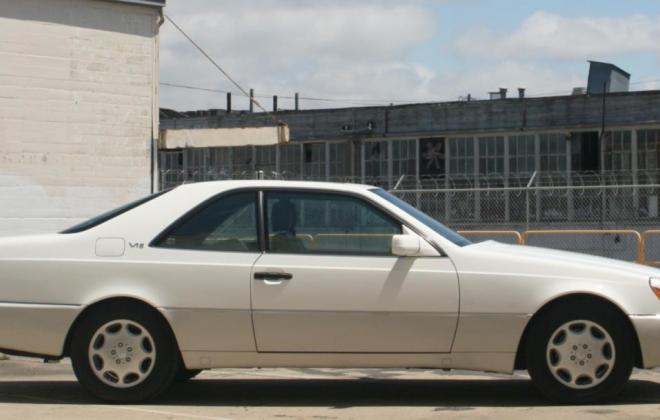 1996 Mercedes CL600 S600 coupe Polar White images (24).jpg