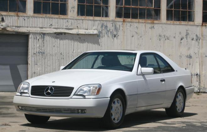 1996 Mercedes CL600 S600 coupe Polar White images (30).jpg