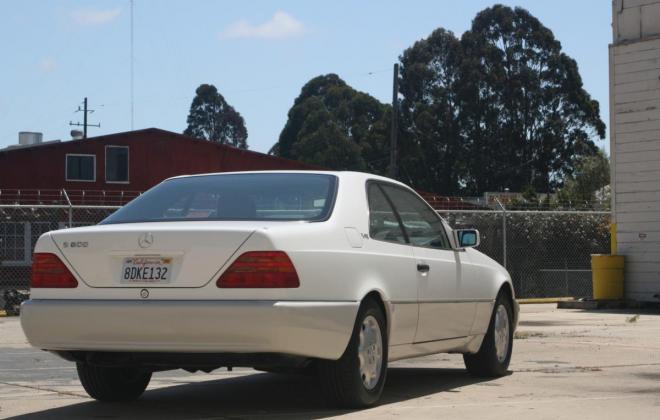 1996 Mercedes CL600 S600 coupe Polar White images (35).jpg