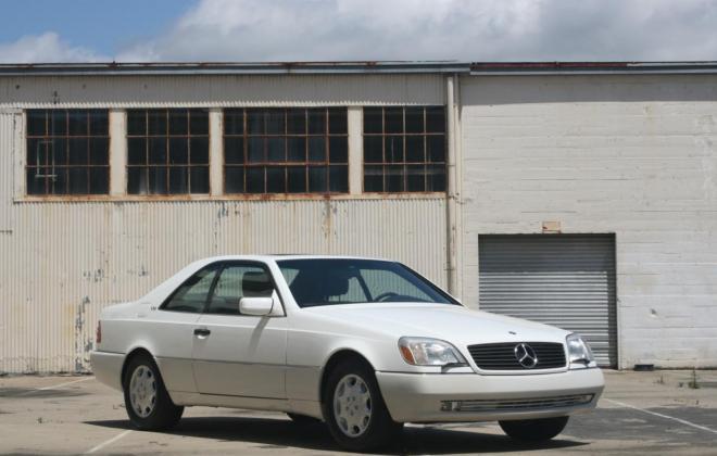 1996 Mercedes CL600 S600 coupe Polar White images (6).jpg