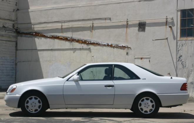 1996 Mercedes CL600 S600 coupe Polar White images (8).jpg