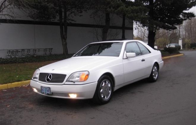 1996 Mercedes S500 coupe W140 C140 white images USA (1).jpg