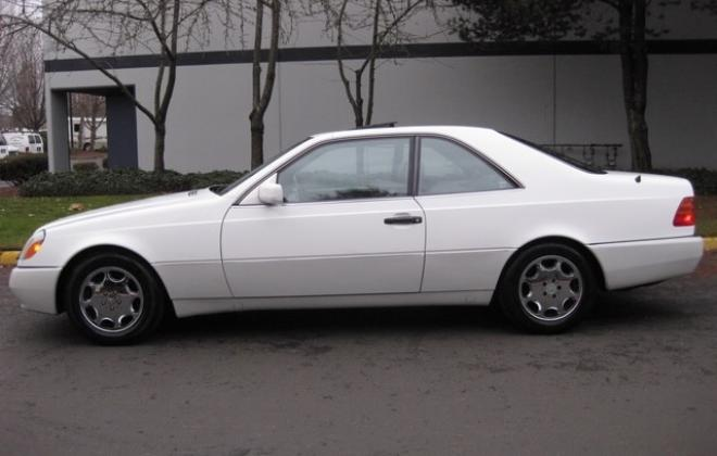 1996 Mercedes S500 coupe W140 C140 white images USA (10).jpg
