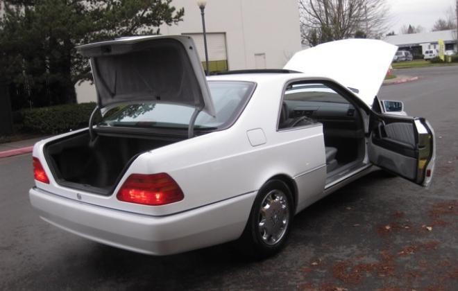 1996 Mercedes S500 coupe W140 C140 white images USA (12).jpg