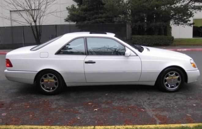 1996 Mercedes S500 coupe W140 C140 white images USA (13).jpg