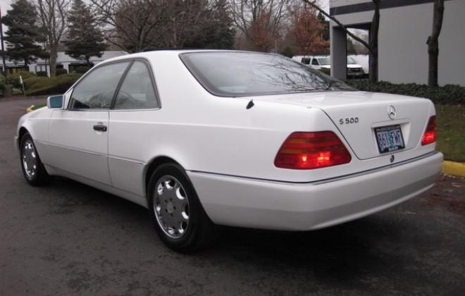 1996 Mercedes S500 coupe W140 C140 white images USA (16).jpg