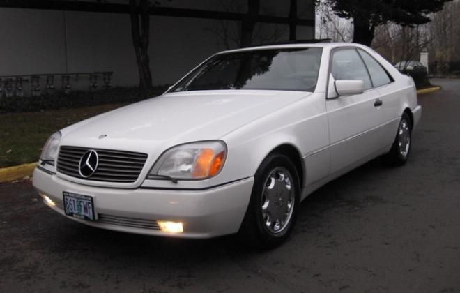 1996 Mercedes S500 coupe W140 C140 white images USA (17).jpg