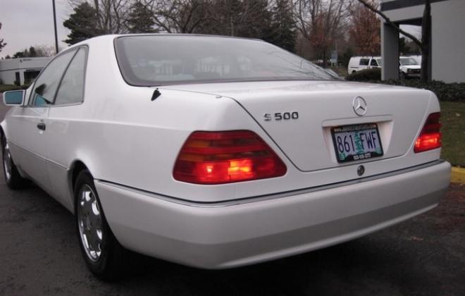 1996 Mercedes S500 coupe W140 C140 white images USA (19).jpg
