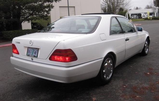 1996 Mercedes S500 coupe W140 C140 white images USA (2).jpg