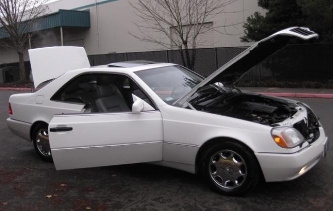 1996 Mercedes S500 coupe W140 C140 white images USA (20).jpg