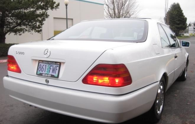 1996 Mercedes S500 coupe W140 C140 white images USA (22).jpg