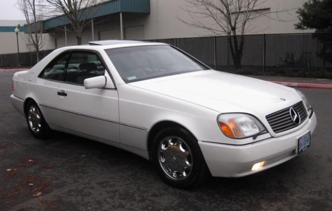 1996 Mercedes S500 coupe W140 C140 white images USA (3).jpg