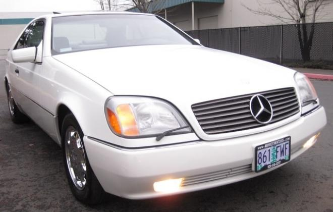 1996 Mercedes S500 coupe W140 C140 white images USA (4).jpg
