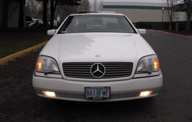 1996 Mercedes S500 coupe W140 C140 white images USA (6).jpg
