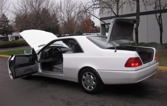 1996 Mercedes S500 coupe W140 C140 white images USA (9).jpg