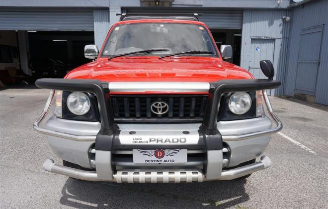 1996 Toyota Land Cruiser Prado J90 SWB 3 door JDM import NZ RHD images red on silver (5).jpg