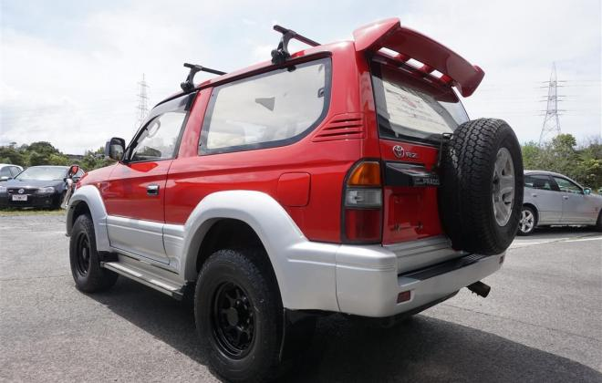 1996 Toyota Land Cruiser Prado J90 SWB 3 door JDM import NZ RHD images red on silver (7).jpg