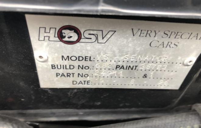 1996 VS Holden HSV Senator white paint images register (2).JPG