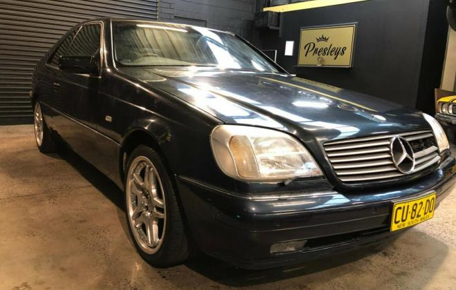 1997 Australian delivered CL500 C140 Coupe (1).jpg