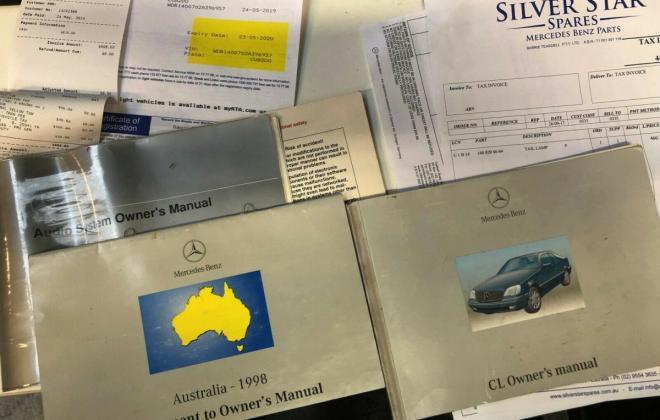 1997 Australian delivered CL500 C140 Coupe (13).jpg