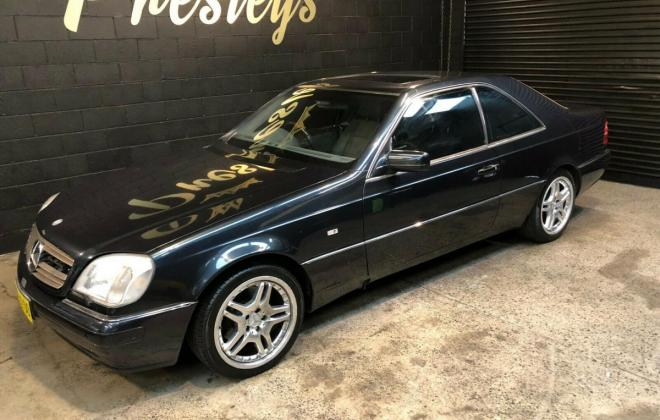 1997 Australian delivered CL500 C140 Coupe (2).jpg