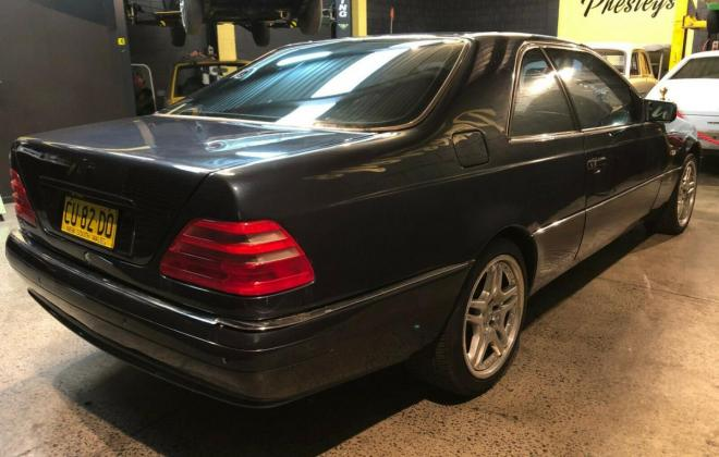 1997 Australian delivered CL500 C140 Coupe (4).jpg