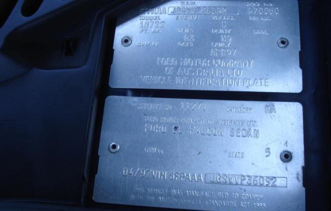 1997 EL Falcon GT Navy Blue paint number 060  (16).jpg