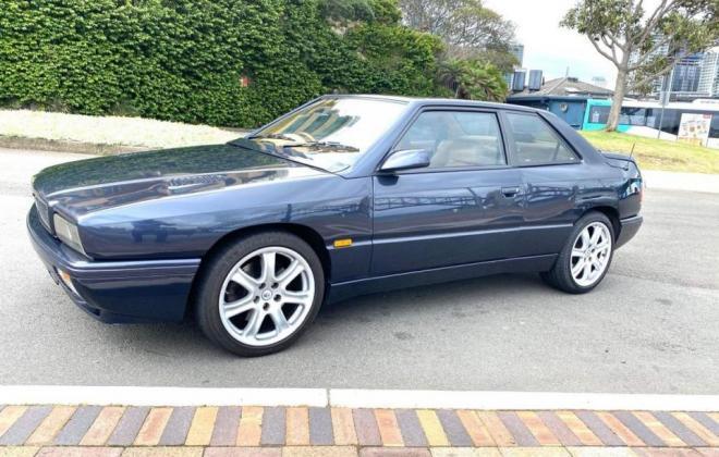 1997 Maserati Ghibli GT dark blue exterioe images RHD Australia(6).jpg