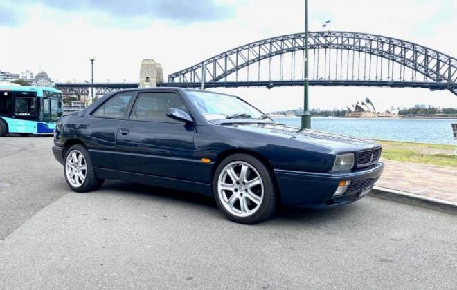 1997 Maserati Ghibli GT dark blue exterioe images RHD Australia(7).jpg