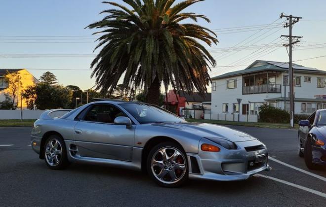 1997 Mitsubishi 3000 GT GTO silver coupe MR edition Australia (3).jpg