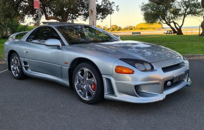 1997 Mitsubishi 3000 GT GTO silver coupe MR edition Australia (9).jpg