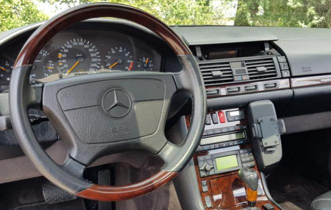 1997 Timber trim steering wheel CL500 C140 coupe.jpg