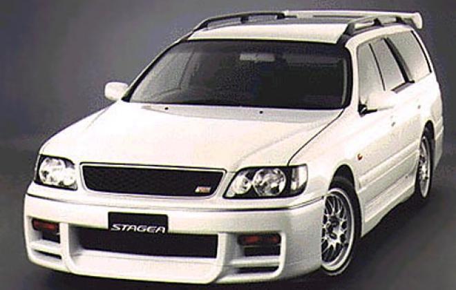 1998 Autech Stagea RS260 Series 1 stock.jpg