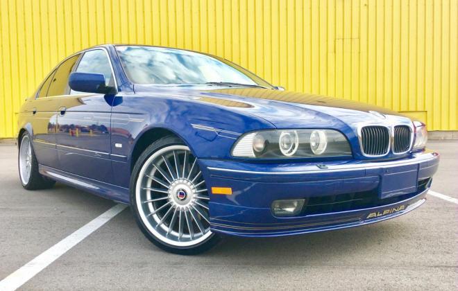 1998 BMW E39 Alpina B10 V8 Blue images immaculate condition (1).jpg