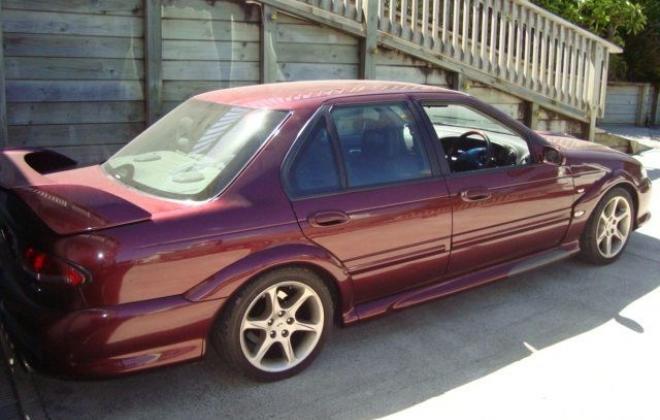 1998 EL Ford Falcon GT 1998 build number 255 (4).jpg