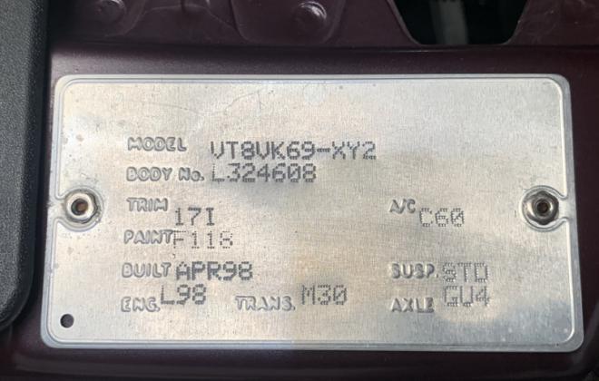 1998 HSV VT GTS original images maroon (26).jpg