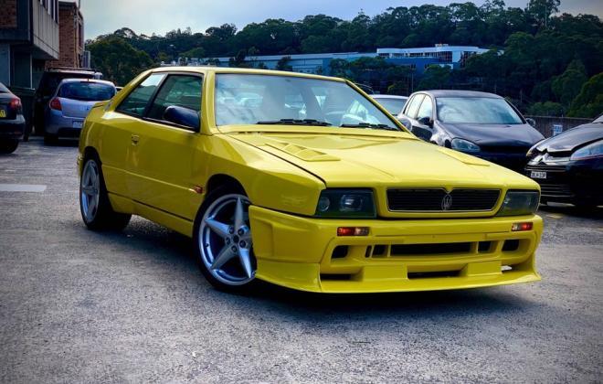 1998 Maserati Ghibli Yellow coupe for sale Sydney (2).jpg