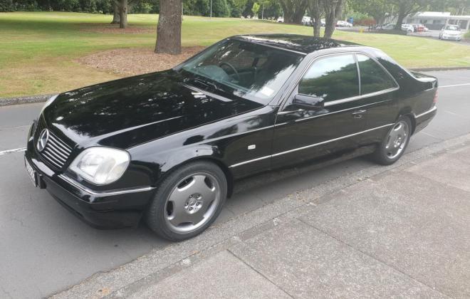 1998 Mercedes CL500 C140 coupe black images (12).jpg