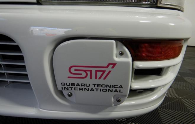1998 Subaru WRX STi Version 5 Coupe type R white stickers badges images 2021 Australia (12).jpg
