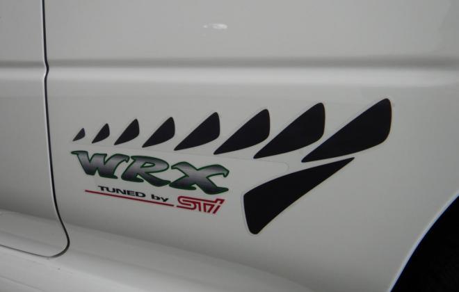 1998 Subaru WRX STi Version 5 Coupe type R white stickers badges images 2021 Australia (7).jpg