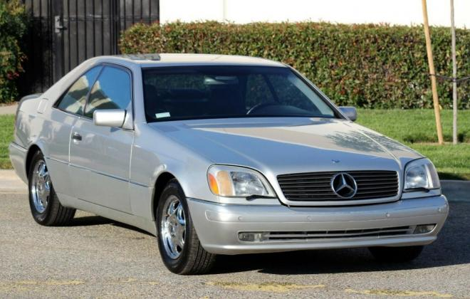 1999 CL500 W140 Coupe C140 images silver (2).jpg