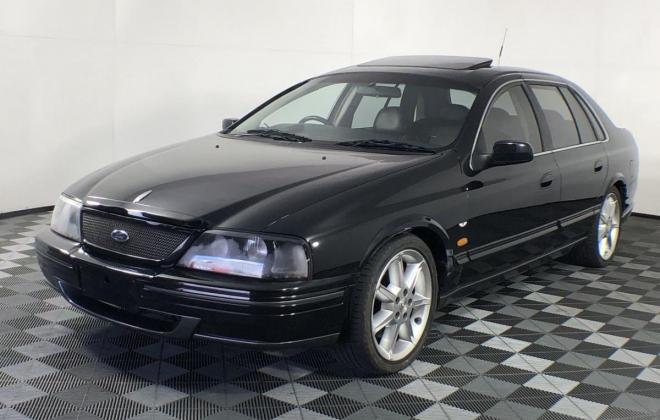 1999 Ford Fairlane Tickford TL50 South Australia Black (1).jpg
