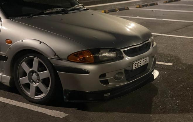2002 Proton Satria GTi heavily modified Sydney Australia (12).jpg