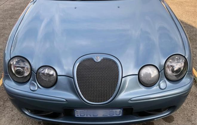 2003 Jaguar S-Type R V8 Supercharged Blue UK import to Australia (1).jpg