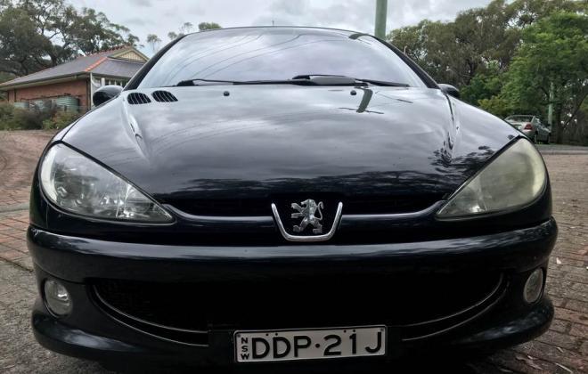 2004 Peugeot 206 GTI 180 Black hatch Feb 2021 Australia (1).jpg