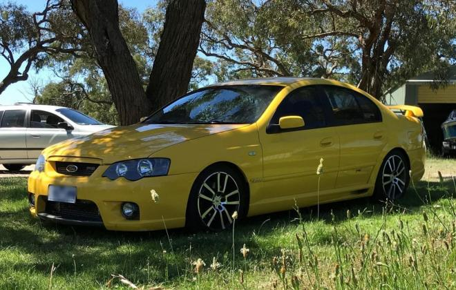 2005 Ford Falcon BA F6 Typhoon yellow paint images 2021 (1).jpg
